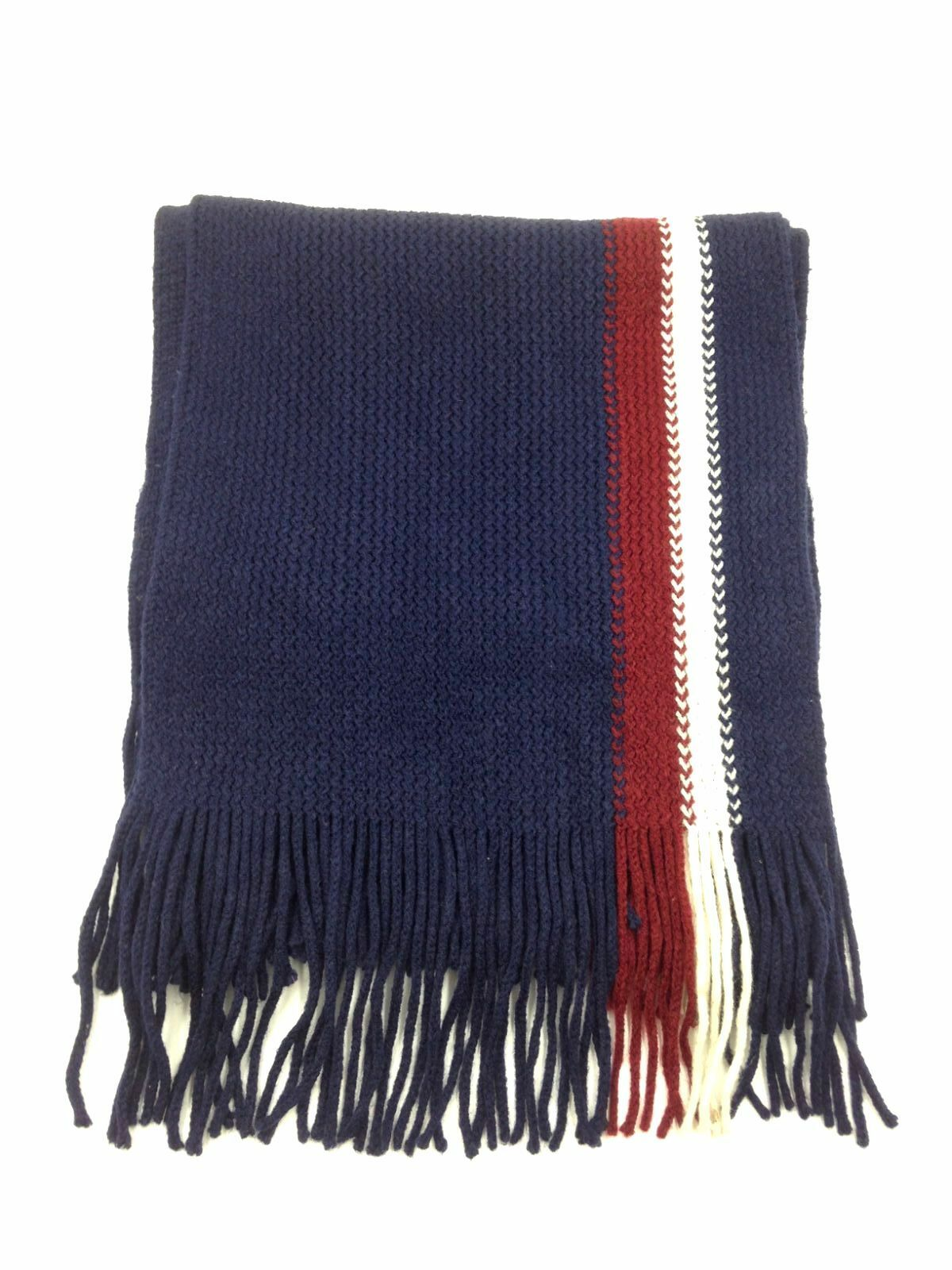 Yamalans Men/'s Classic Acrylic Shawl Winter Warm Long Fringe Striped Tassel Scarf