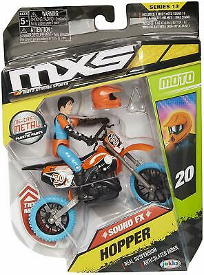 Motocross Toys Moto Extreme Sports Bike /& Rider with SFX Sounds Action Figure