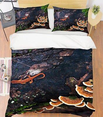 Möbel & Wohnen Kenntnisreich 3d Ganoderma Wald Gecko 4 Bett Kissenbezüge Steppen Duvet Decken Set Single De