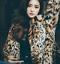 Jakke Rabbit Lapel Hot Coat Outwear Collar Womans Leopard Parka Long Mid Fur q4WwSZ8U