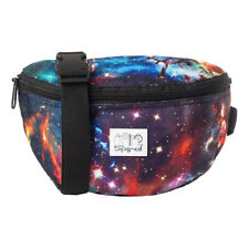 VELVET BUMBAG MONEYBELT RAVE CLUB FESTIVAL TRAVEL STRONG SECURE BAG