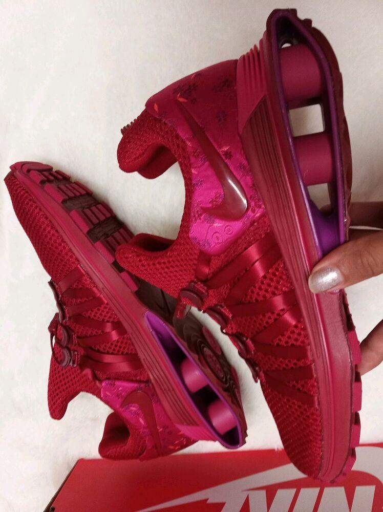 9.5 Women's Nike Shox Gravity Gravity Gravity Casual Red Cherry AQ8554 606 running casual 2018 Chaussures de sport pour hommes et femmes 6ec6e0