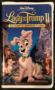 Lady And The Tramp Ii Scamp S Adventure Vhs 2001 Clamshell 786936140446 Ebay