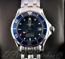 Omega Seamaster Planet Ocean Diver Quartz Ladies 2224.80.00 UNWORN Blue 222480