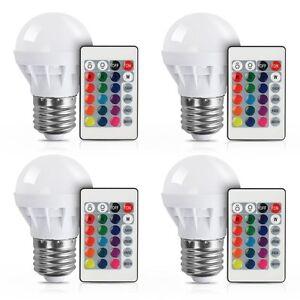 16-Color-Changing-3W-E27-RGB-LED-Light-Bulb-Globe-Lamp-IR-Remote-Control-85-265V