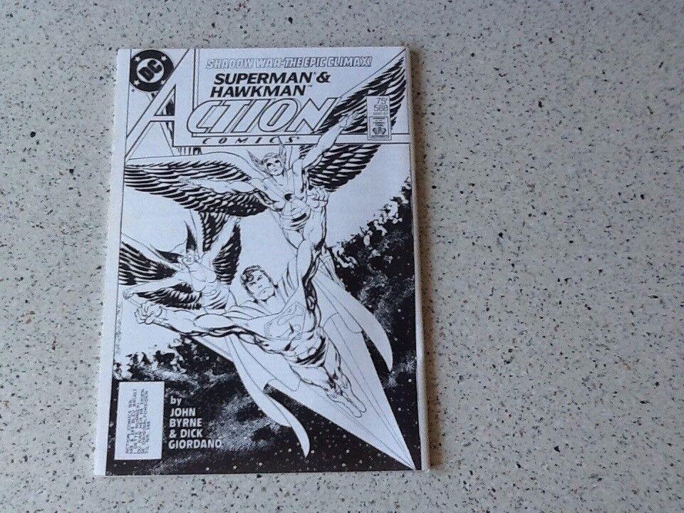 Superklubbens årshæfte 1987 sjældent hæfte , Tegneserie