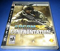 Socom: U.s. Navy Seals Confrontation Sony Playstation 3 - Free Shipping