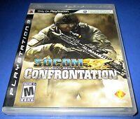 Socom: U.s. Navy Seals Confrontation Sony Playstation 3 - Free Shipping