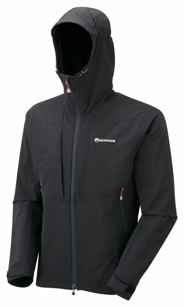 Montane Dyno Stretch Jacke --leichte Stretch --Softshelljack