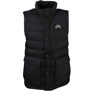aecbac32250a  200.00 693332-010 Nike Men SB 550 Down Fill Vest (black)
