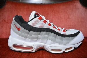 the latest 375f2 a9887 Image is loading 2010-NIKE-AIR-MAX-95-WHITE-COMET-RED-