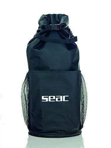Seac Seal, Zaino Pesca Sub Apnea Unisex – Adulto, Nero, Nero, Nero, Taglia Unica (d0B) b32eb4