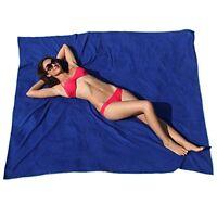 Sportlite Beach Blanket: 100% Microfiber Xxl Beach Towel, With Corner Anchor Poc on sale