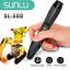 Indexbild 9 - SUNLU 3D Druck stift drei dimensional SL 300 PLA ABS Mehrfarben