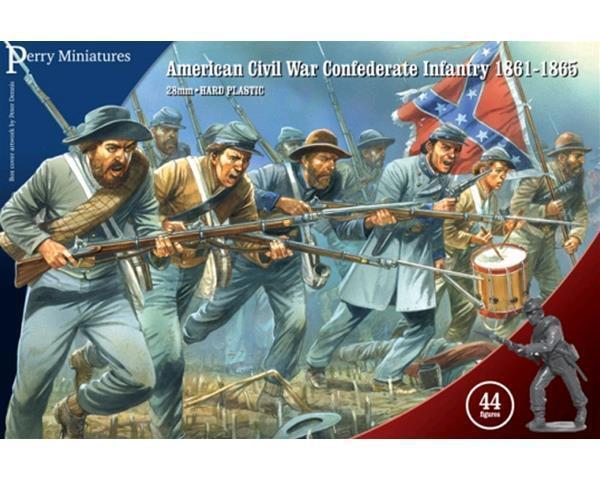 Perry Miniatyrs  Amerikanska inbördeskriget Infanteriet 1861 -1865