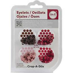 We R Memory Keepers Eyelets for Scrapbooking Standard Pink