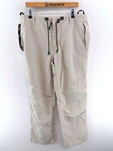 Ben-Sherman-Da-Uomo-Pantaloni-Chino-Pantaloni-Cargo-W38-L34-Light-Green-Cotton-amp-Nylon-Lungo