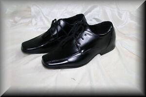 festliche Jungenschuhe/Kinderschuhe/inSchwar/Neu&OVP/Gr. 86-176/eleganter Schuhe