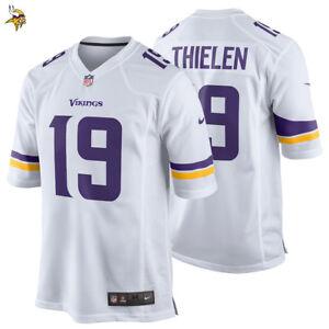 e98b1db4 NEW 2018 Adam Thielen Nike Game Jersey Minnesota Vikings NFL #19 ...