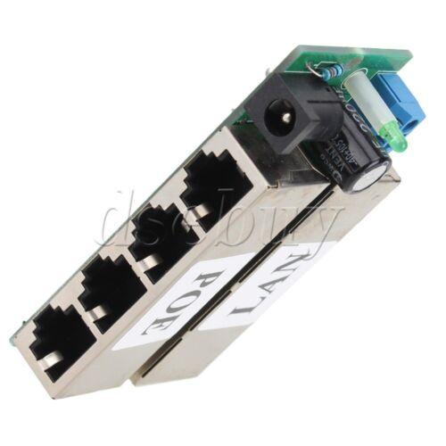 Power port for IP Camera 48V POE Module Injector Over Ethernet Router 4 LAN
