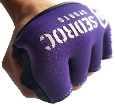 Sedroc Boxing Gel Fist Guards Slip on Knuckle Shields Protectors Purple