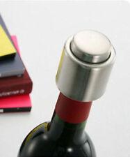 Vacuum Sealed Champagne Wine Bottle Stainless Steel Stopper Bottle Cap Corks