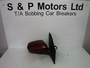 Honda-Civic-01-03-5dr-OS-Electric-Wing-Mirror-5-Wire-Red-76200S6DE100M3