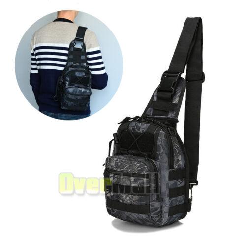 Tactical Sling Military Backpack Pack Rover Small Shoulder Bag Molle Bike Hiking