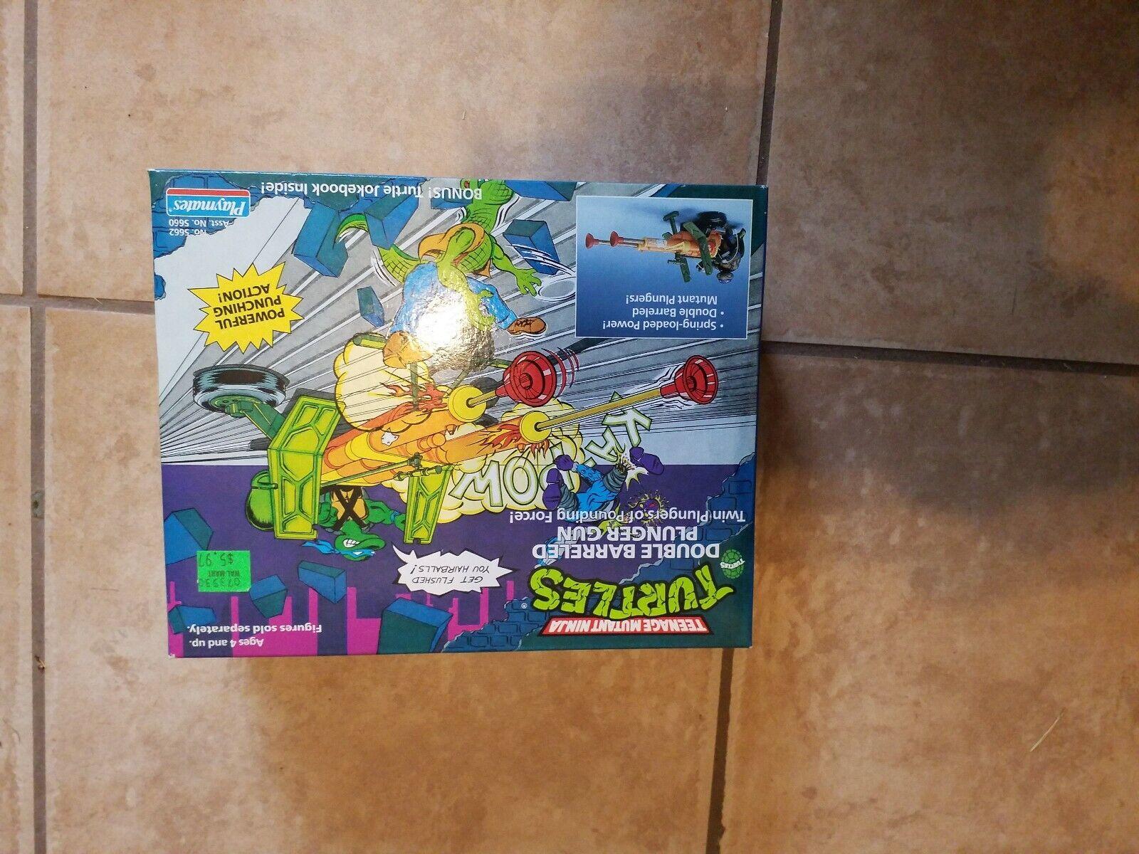 Doppio Barreled Plunger Gun Play Set 1989 TMNT Teenage Mutant  Ninja Turtles  confortevole
