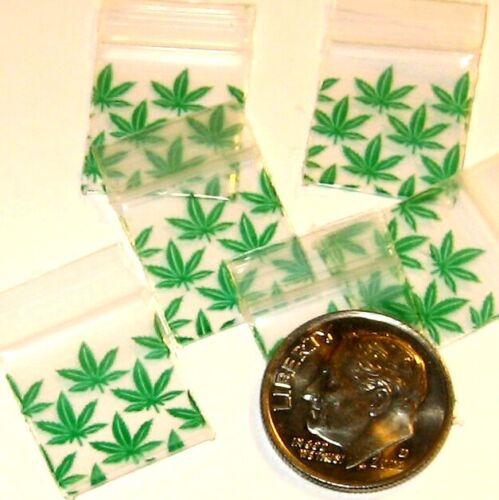 100 Baggies mixed designs 5//8 x 5//8 inch minizips 5858