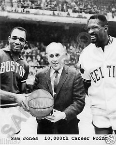 Image is loading BILL-RUSSELL-SAM-JONES-RED-AUERBACH-BOSTON-CELTICS- a9d646ff1