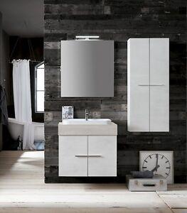 Dettagli su B201 80 Life – Mobile arredo bagno design L 71+50 cm  personalizzabile COMPAB