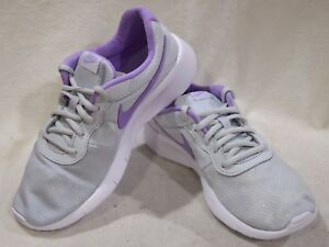 retail prices dd6fa d614d Image is loading Nike-Tanjun-ES-GS-Platinum-Lilac-Girl-039-