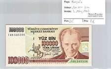 BILLET TURQUIE - 100.000 LIRA - L1970 (1991)