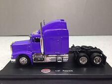 HO 1/87 Model Power # 20102 Peterbilt Tractor - Purple