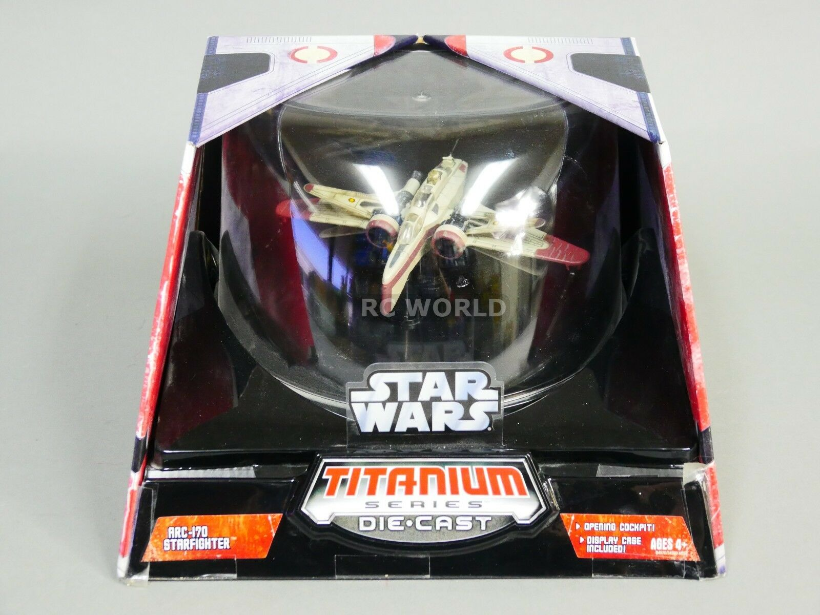 Star Wars Titanium Series ARC-170 STARFIGHTER Die-Cast Model  ob1