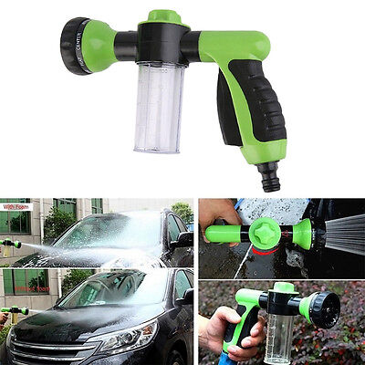Multifunction Car Home Wash Snow Foam Water Gun Clean Pipe Washer Spray Tools