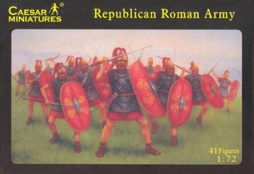 """Soldatini 1//72 /""""Republican Roman Army/"""" Caesar Miniatures H045"""