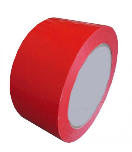 starkes PVC Verpackungsband Packband Kartonband weiß braun blau rot gelb 50mm60m