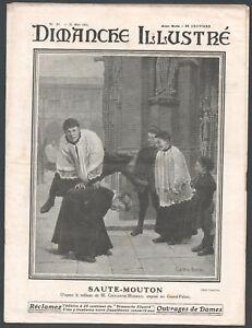 ▬► DIMANCHE ILLUSTRÉ N°21 de 1911  TABLEAU DE CHOCARNE- MOREAU