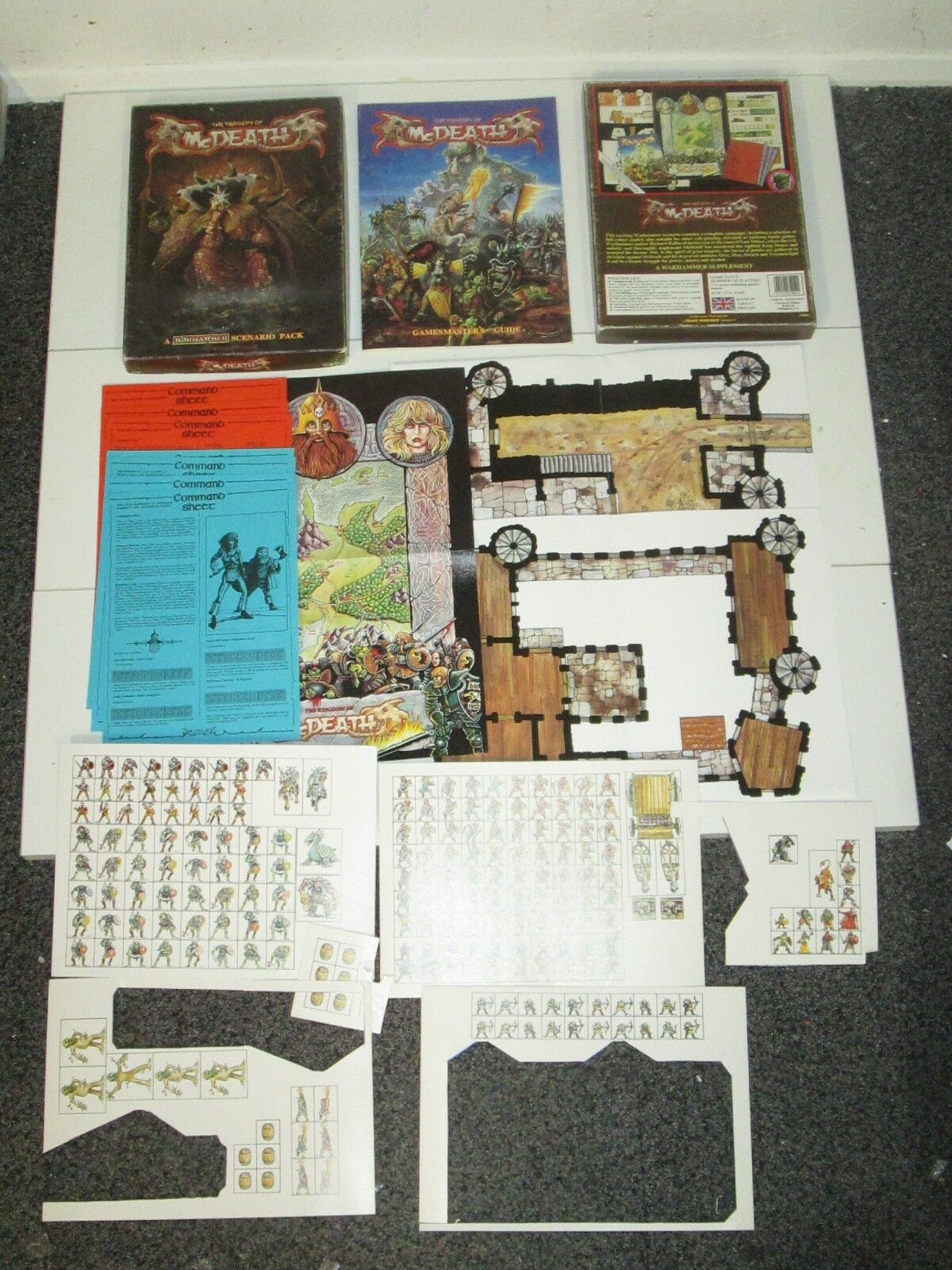 Warhammer Fantasy 1986 Scenario Pack - The Tragedy of McDeath