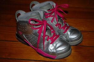 on sale f0b3d d526f Image is loading Girls-Nike-Air-Jordan-Retro-6-Valentine-Day-