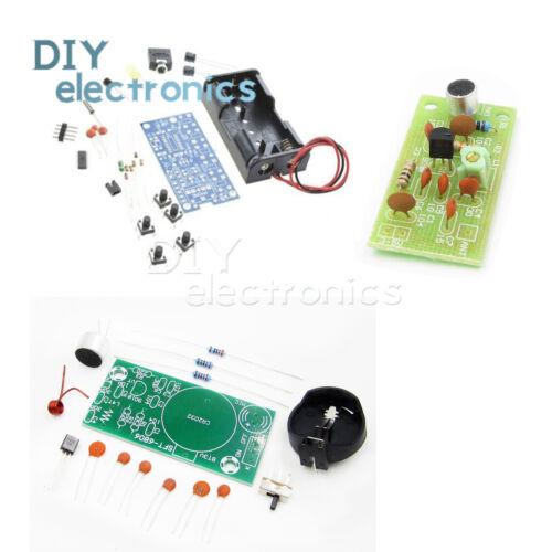 FM Radio Module Frequency Modulation Wireless Microphone PCB DIY Kits US
