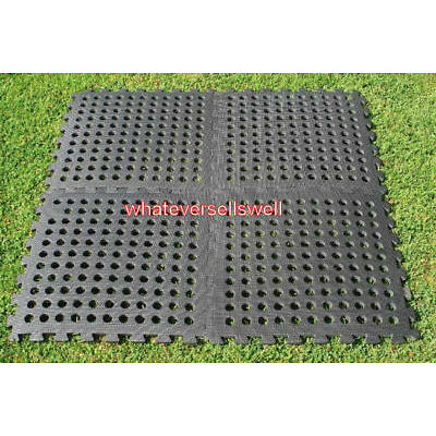 40 x KAMPA EASY LOCK FLOOR anti fatigue TILES for tent awning flooring 10m x 1m