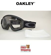 OAKLEY® L FRAME™ OVER GLASSES GOGGLES MX ATV MOTO X MOTORCYCLE DIRT CARBON FIBER