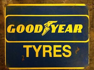 Goodyear Tyres advertising vintage retro signs repro wall art - <span itemprop='availableAtOrFrom'>ingoldmells, Lincolnshire, United Kingdom</span> - Returns accepted Most purchases from business sellers are protected by the Consumer Contract Regulations 2013 which give you the right to cancel the purchase within 14 d - ingoldmells, Lincolnshire, United Kingdom