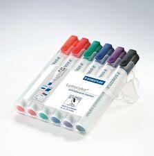 Staedtler 351 Wp6 Lumocolor Whiteboard Markers Pens 6pk8pk Bullet Or Chisel