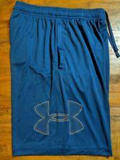 NWT Men/'s Under Armour Tech Graphic Shorts ~ Heatgear ~ UA 1306443 ~ Blue ~ XXL