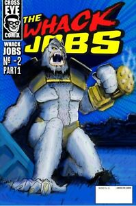 The Whack Jobs comic coloring book #-2 part 1