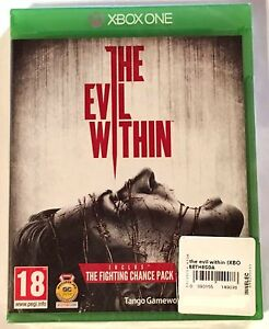 THE-EVIL-WITHIN-Neuf-sous-blister-Jeu-XBOX-ONE